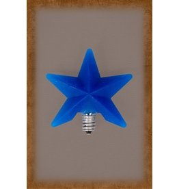 Vickie Jean's Creations Silicone Bulb Large Blue Star