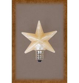 Vickie Jean's Creations Silicone Bulb Medium Warm Star