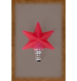 Vickie Jean's Creations Silicone Bulb Medium Red Star
