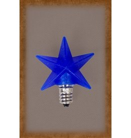 Vickie Jean's Creations Silicone Bulb Medium Blue Star