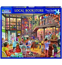 White Mountain Local Book Store 1000 pc Puzzle