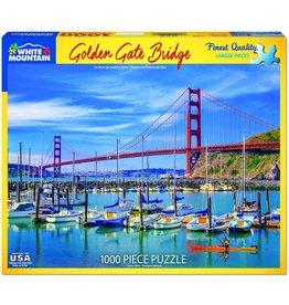 White Mountain Golden Gate Bridge 1000 pc Puzzle