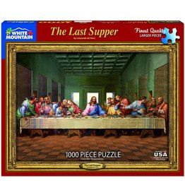 White Mountain The Last Supper 1000pc Puzzle
