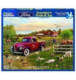 White Mountain Grandpa's Pride & Joy 1000 pc Puzzle