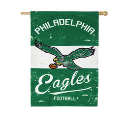 Team Sports America Vintage Eagles House Flag