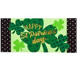 Sassafras Switch Mat St. Patrick's Day Shamrocks