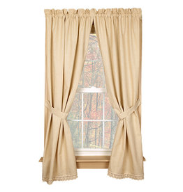 Country House Granny's Homespun Curtains
