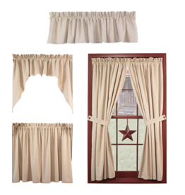 Country House Plain 'N' Simple Curtains