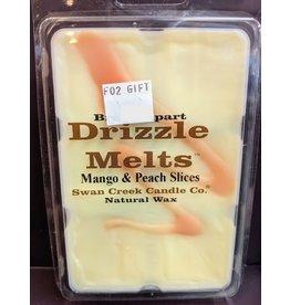 Swan Creek Drizzle Melts Mango & Peach Slices