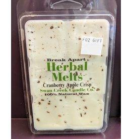 Swan Creek Drizzle Melts Cranberry Apple Crisp