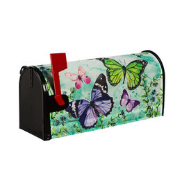 Evergreen Butterfly Friends Mailbox Cover