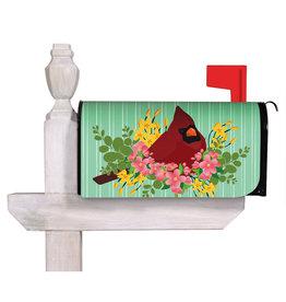 Evergreen Spring Cardinal Mailbox Cover