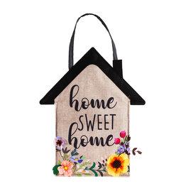 Evergreen Home Sweet Home Door Décor