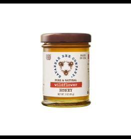 Savannah Bee Company Wildflower Honey 3 oz Jar