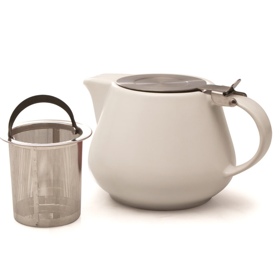 BIA BIA Teapot with Infuser, 650ml, white