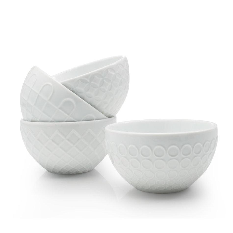 BIA BIA Textured Bowl 14oz, White