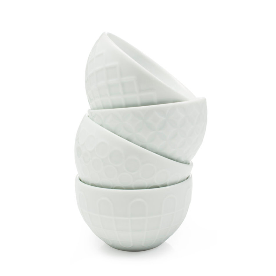 BIA BIA Textured Bowl 6oz, White