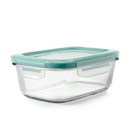 OXO Good Grips OXO SmartSeal 3.5 Cup Rectangular Container, Glass