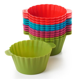 OXO Good Grips OXO Good Grips Silicone Baking Cups, Set of 12