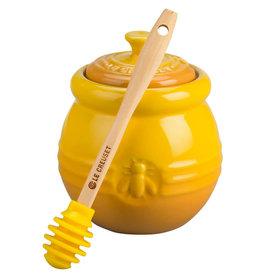 Le Creuset Le Creuset Honey Pot with Silicone Honey Dipper
