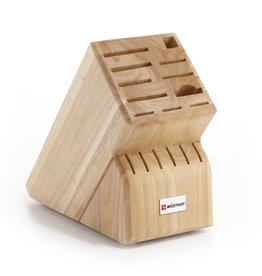 Wusthof Wusthof Natural Beech Knife Block, 17 Cuts