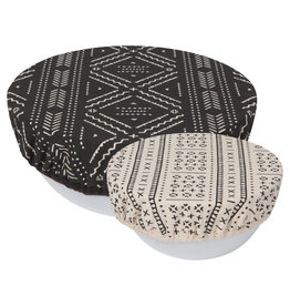 Now Designs Save it Bowl Covers, Set of 2, Onyx