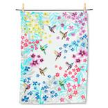 "Abbott Hummingbird Garden Tea Towel, 20""x28"""