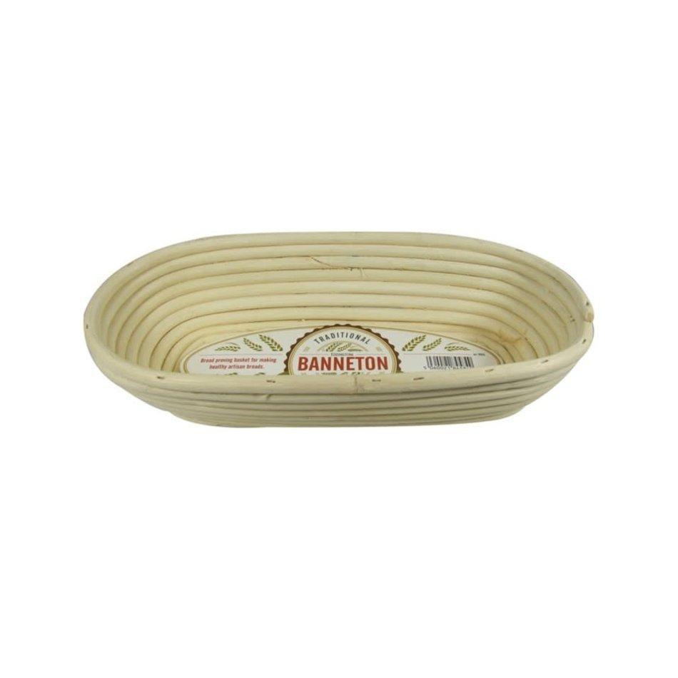 Banneton Banneton Oval 1kg Bread Proofing Basket