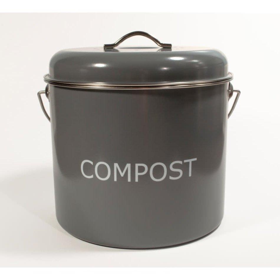 Compost Bin, Large, Grey