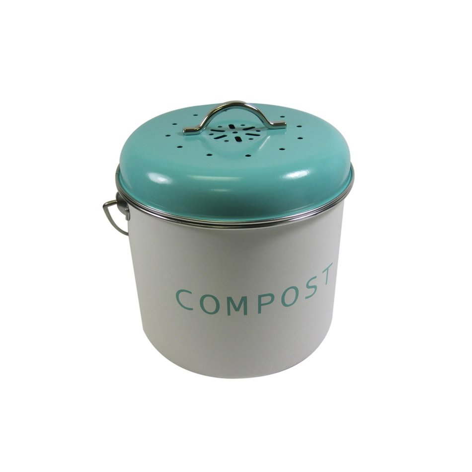 Compost Bin, Small, Turquoise