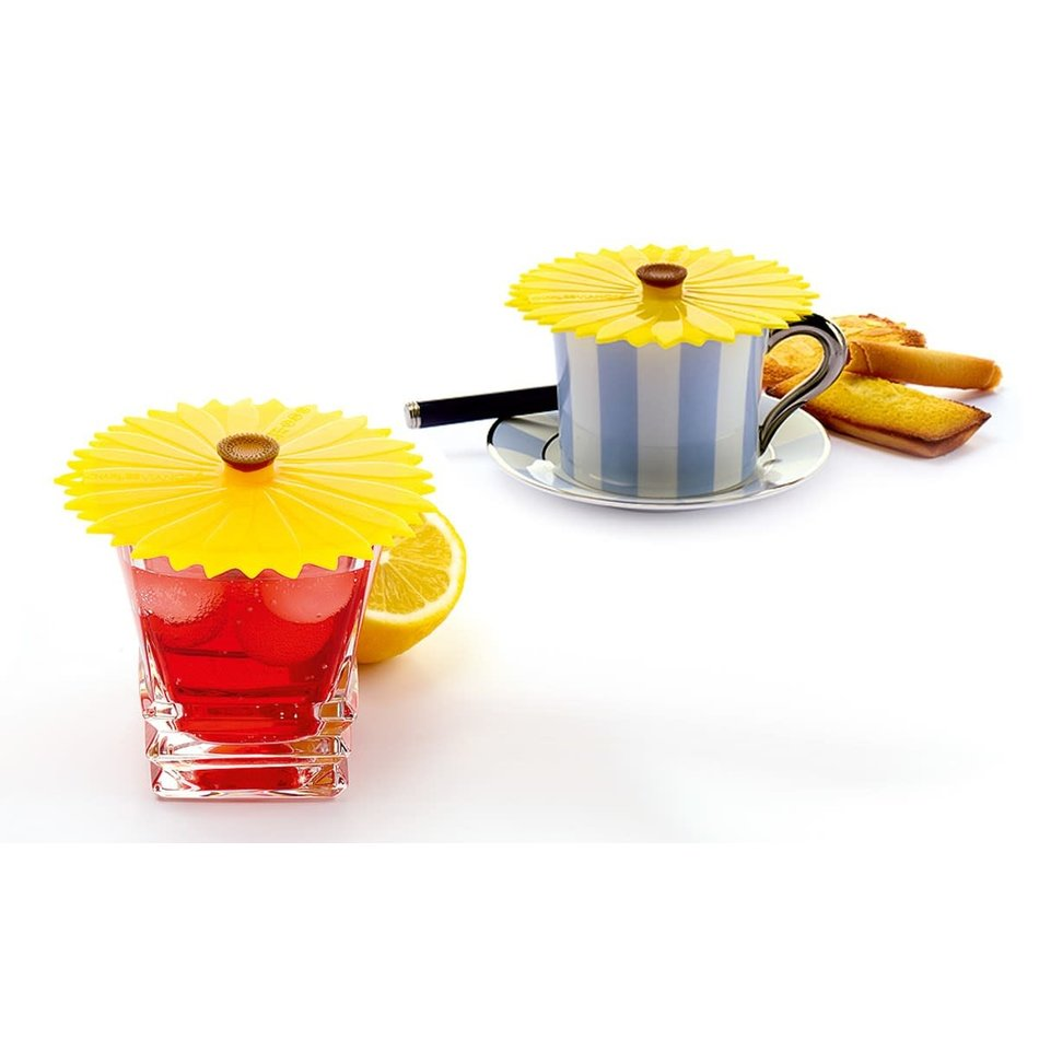 Charles Viancin Charles Viacin Sunflower Drink Covers, Set of 2