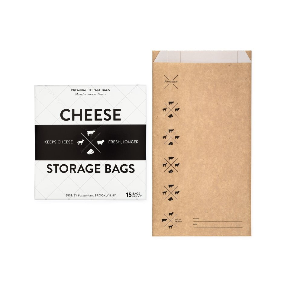 Formaticum Cheese Storage Bags, Pack of 15