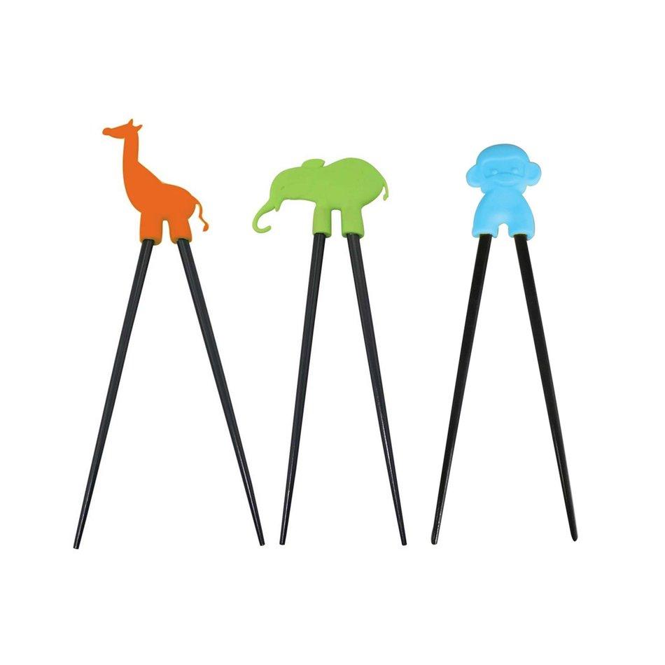 Kitchenbasics Helper Chopsticks, Animals