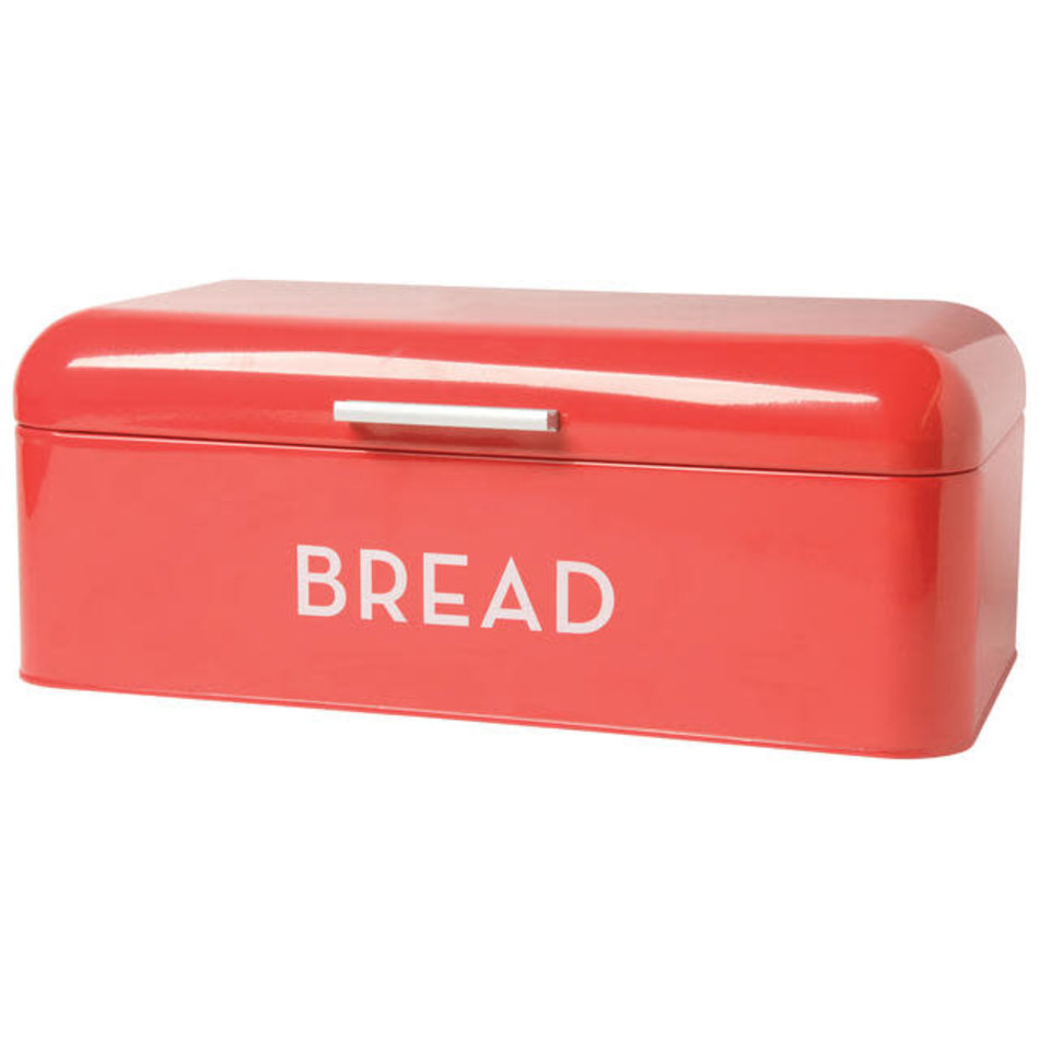Now Designs Bread Bin Large, Red