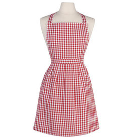 Now Designs Classic Apron, Red Gingham