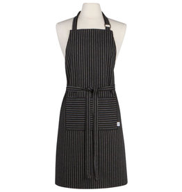 Now Designs Apron, Pinstripe Black