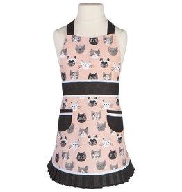 Now Designs Sally Kid's Apron, Cat's Meow