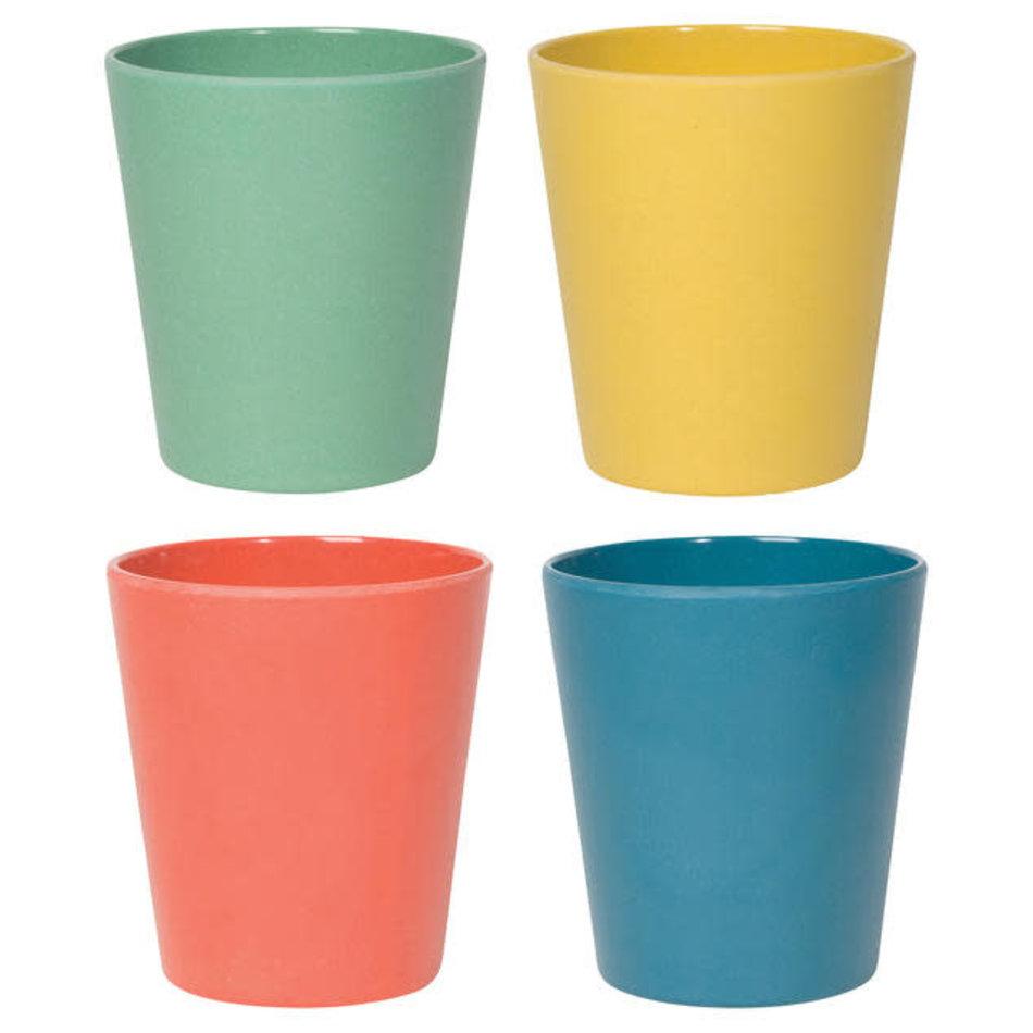 Now Designs Ecologie Fiesta, Cups, Set of 4