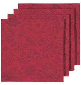 Now Designs Woodland Jacquard Napkins, Set of 4