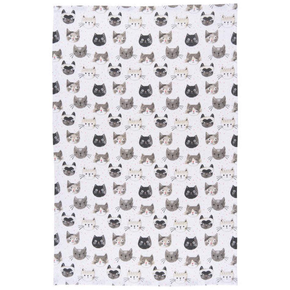 Now Designs Cat's Meow Tea Towel