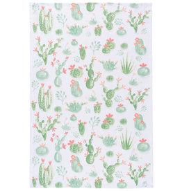 Now Designs Cacti Print Tea Towel