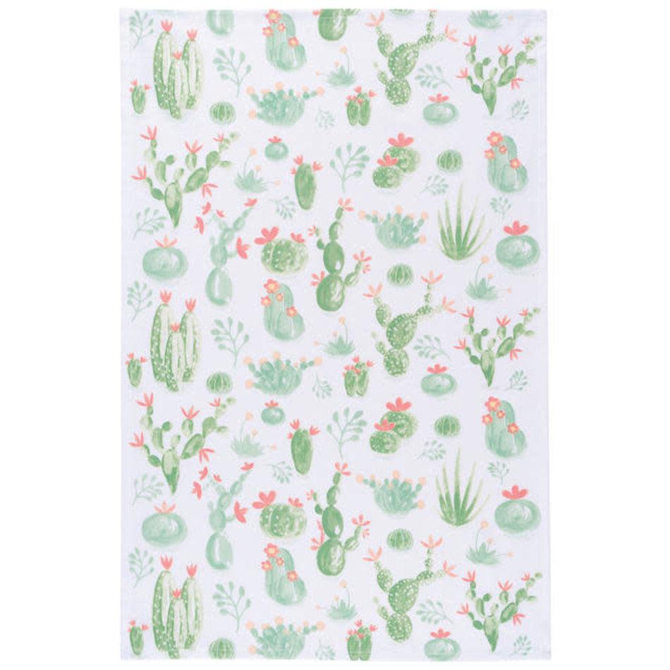 Now Designs Cacti Print Teatowel