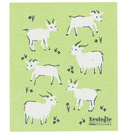 Now Designs Swedish Dishcloth, Goats