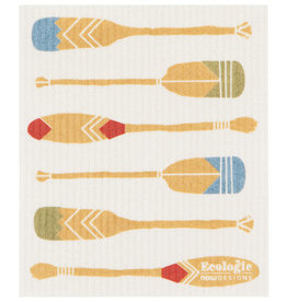 Now Designs Swedish Dishcloth, Lake Life
