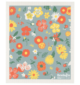 Now Designs Swedish Dishcloth, Flowers of Month