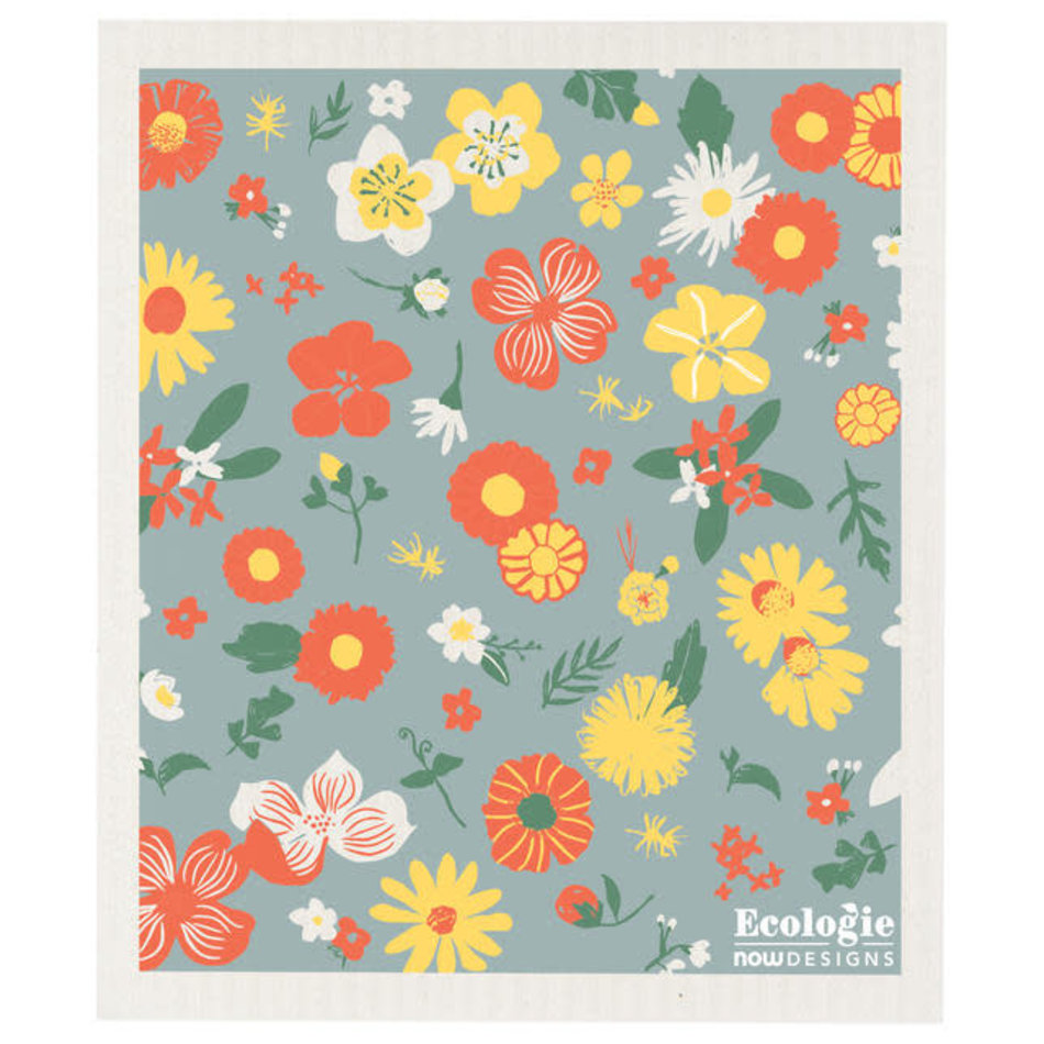 Now Designs Swedish Dishcloth, Flowers of the Month