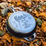 """Lodge Lodge Wildlife Deer Skillet, 10.25"""""""