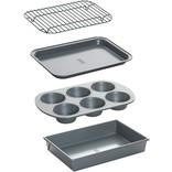 Chicago Metallic Chicago Metallic Toaster Oven Set, 3pc