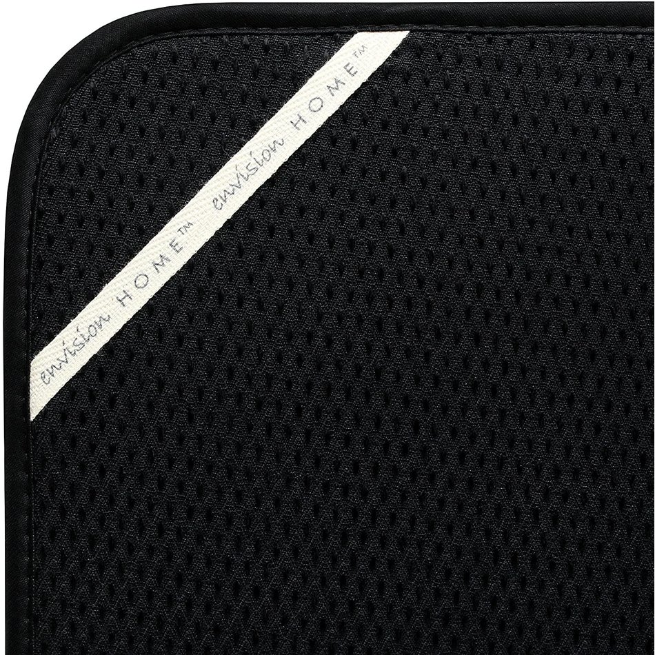 Envision Dish Drying Mat, Black