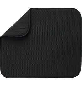 Envision Dish Drying Mat, Black